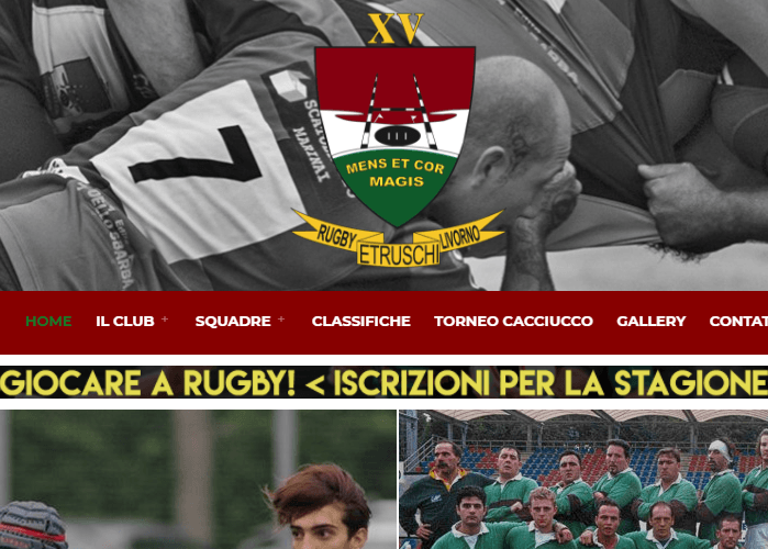 rugby etruschi livorno screenshot