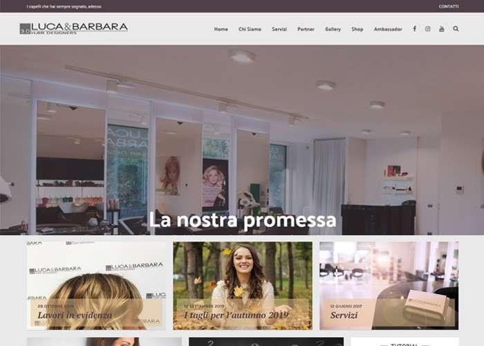 luca e barbara hair designers screenshot