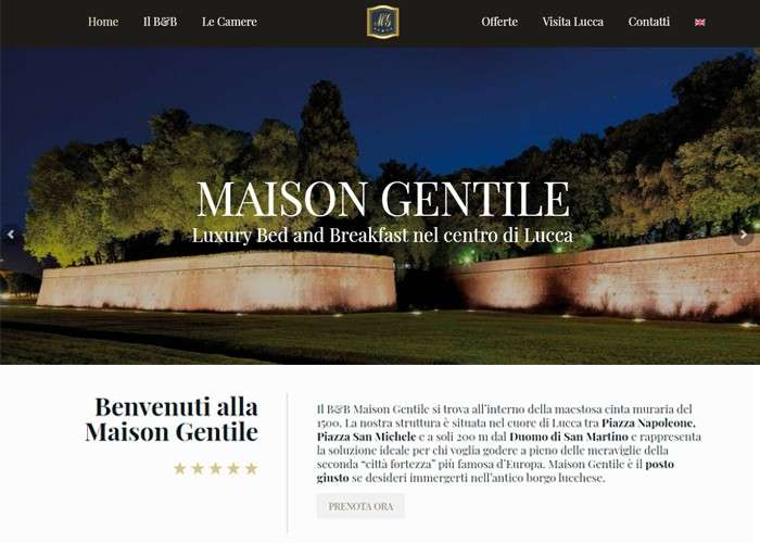 maison gentile screenshot